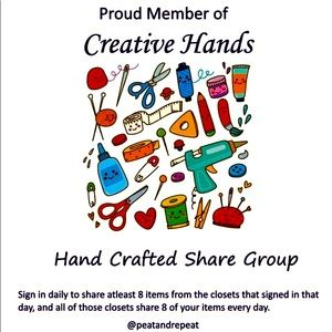 Hand Crafted Share Group 💕NEW